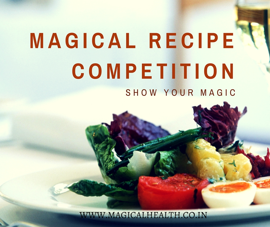 Recipe Competition at Magical Health