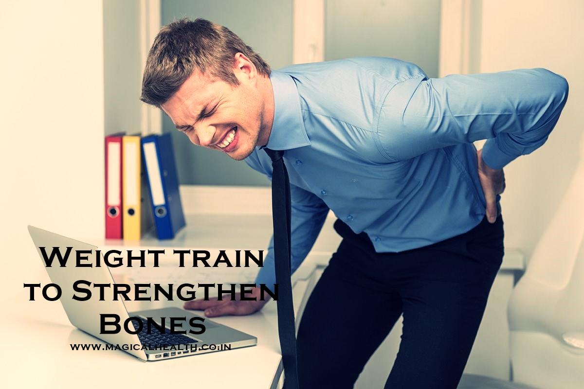 Weight Train to Strengthen Bones