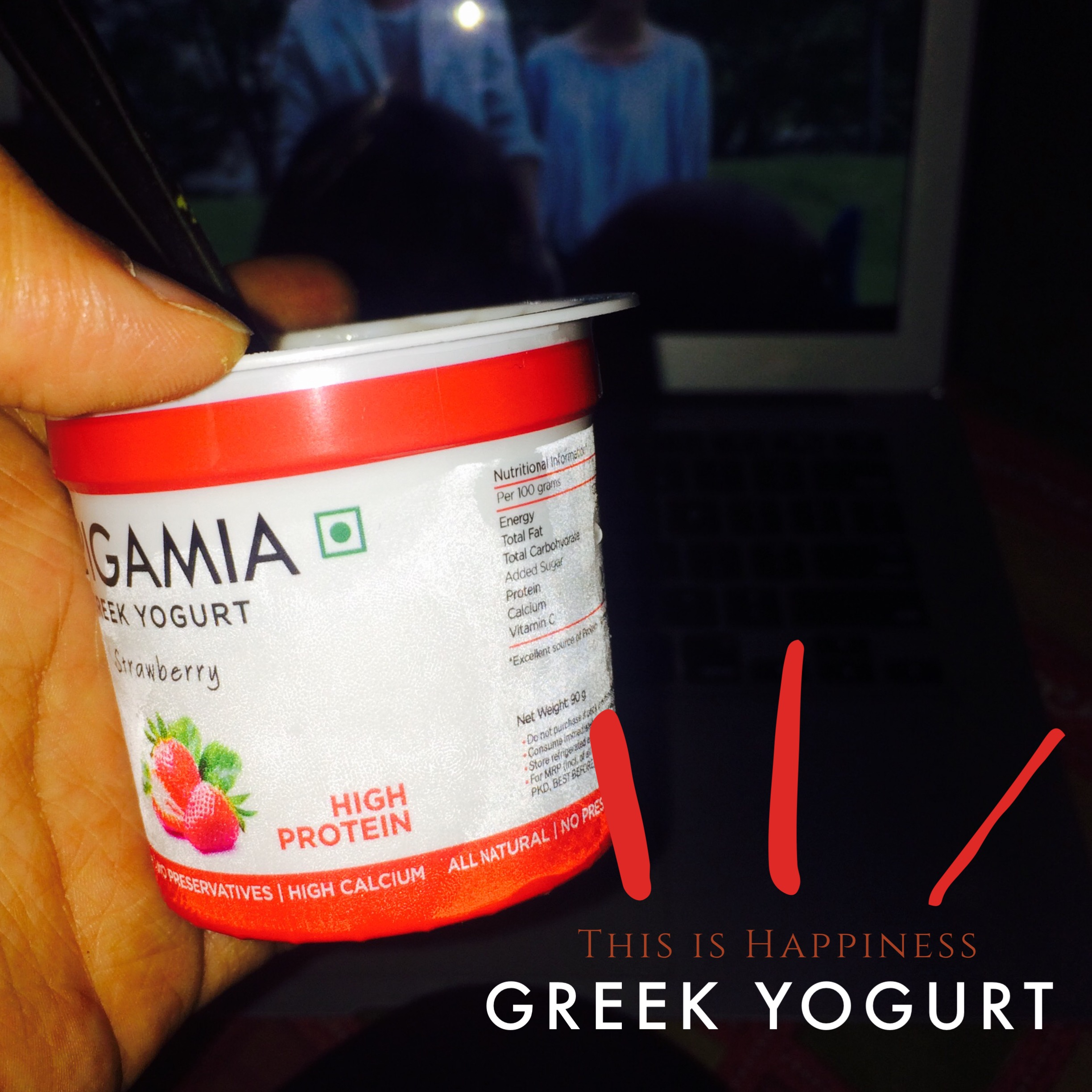 Munching and eating out options for weight loss- Greek yogurt