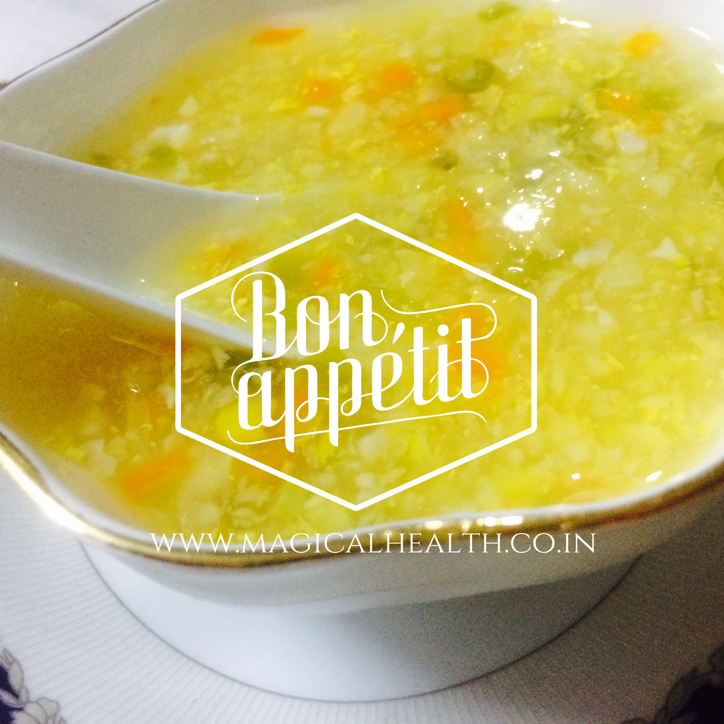 Munching and eating out options for weight loss- Corn Soup