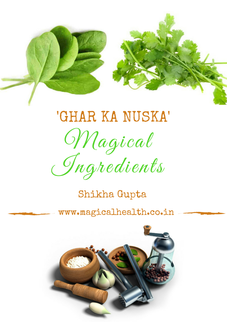 Ghar Ka Nuska- Indian Spices and Herbs to heal your health