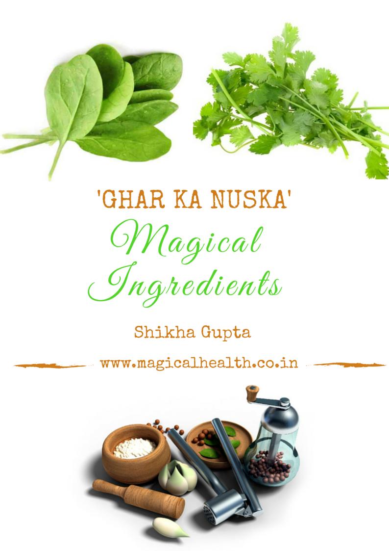 Ghar Ka Nuska- Indian Spices and Herbs to heal your health