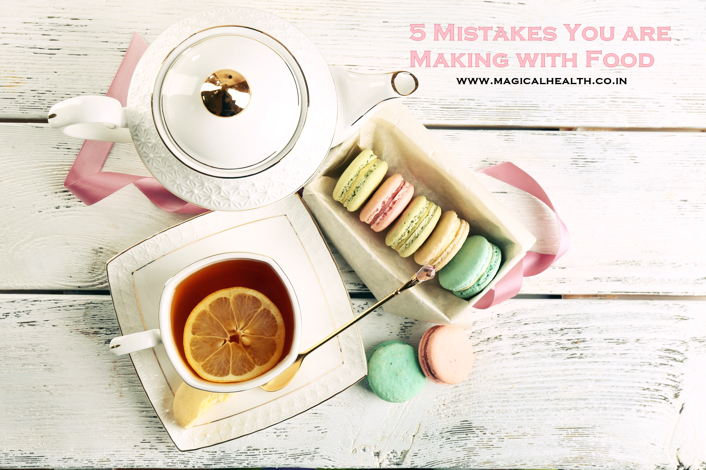 5 mistakes you are making with foods to lose weight