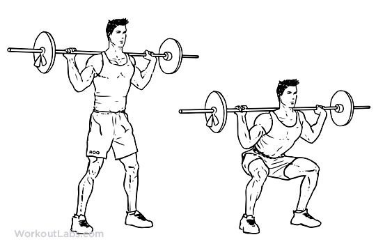 5 exercises for Fast Weight Loss- Squats