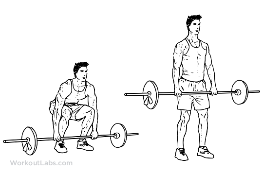 5 exercises for Fast Weight Loss-Deadlift