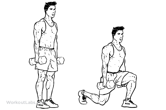 5 exercises for Fast Weight Loss-Lunges